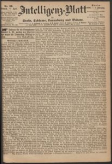 Inteligenz-Blatt für Stolp, Schlawe, Lauenburg und Bütow. Nr 29/1868 r.