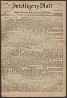 Inteligenz-Blatt für Stolp, Schlawe, Lauenburg und Bütow. Nr 31/1868 r.