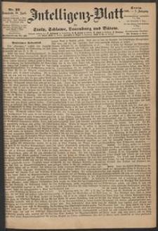 Inteligenz-Blatt für Stolp, Schlawe, Lauenburg und Bütow. Nr 32/1868 r.