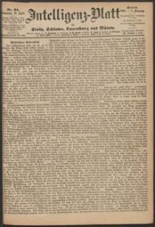 Inteligenz-Blatt für Stolp, Schlawe, Lauenburg und Bütow. Nr 34/1868 r.