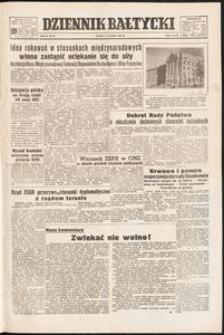 Dziennik Bałtyckii, 1953, nr 38