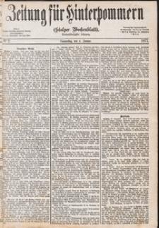 Zeitung für Hinterpommern (Stolper Wochenblatt) Nr. 2/1877