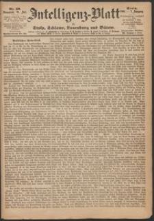 Inteligenz-Blatt für Stolp, Schlawe, Lauenburg und Bütow. Nr 58/1868 r.
