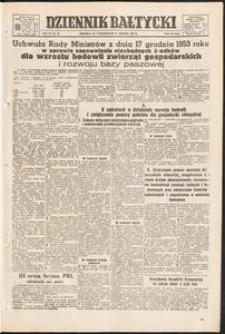 Dziennik Bałtycki, 1953, nr 303