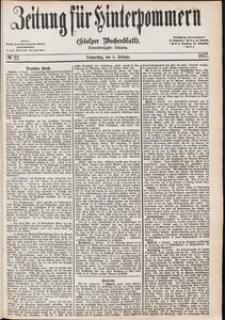 Zeitung für Hinterpommern (Stolper Wochenblatt) Nr. 22/1877