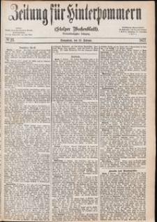Zeitung für Hinterpommern (Stolper Wochenblatt) Nr. 23/1877