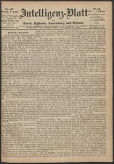 Inteligenz-Blatt für Stolp, Schlawe, Lauenburg und Bütow. Nr 67/1868 r.