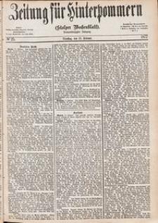 Zeitung für Hinterpommern (Stolper Wochenblatt) Nr. 25/1877