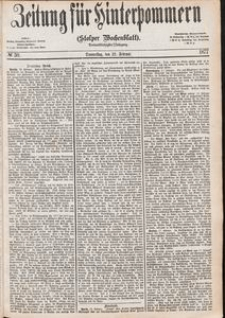 Zeitung für Hinterpommern (Stolper Wochenblatt) Nr. 30/1877