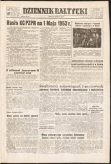 Dziennik Bałtycki, 1953, nr 98