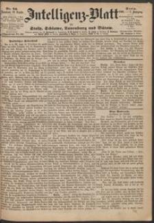 Inteligenz-Blatt für Stolp, Schlawe, Lauenburg und Bütow. Nr 74/1868 r.