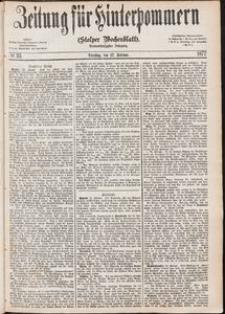 Zeitung für Hinterpommern (Stolper Wochenblatt) Nr. 33/1877