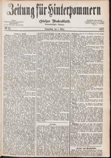 Zeitung für Hinterpommern (Stolper Wochenblatt) Nr. 34/1877