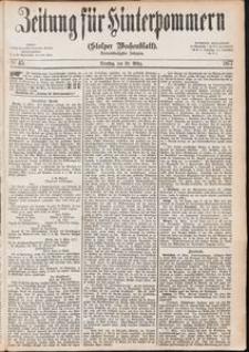 Zeitung für Hinterpommern (Stolper Wochenblatt) Nr. 45/1877
