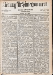 Zeitung für Hinterpommern (Stolper Wochenblatt) Nr. 47/1877