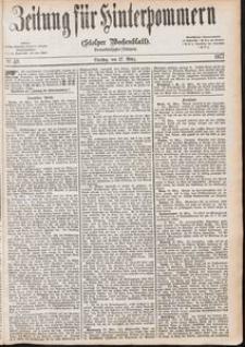 Zeitung für Hinterpommern (Stolper Wochenblatt) Nr. 49/1877