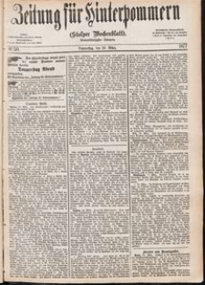 Zeitung für Hinterpommern (Stolper Wochenblatt) Nr. 50/1877