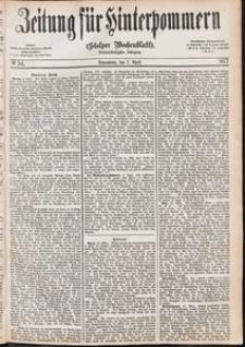 Zeitung für Hinterpommern (Stolper Wochenblatt) Nr. 54/1877