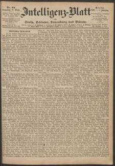 Inteligenz-Blatt für Stolp, Schlawe, Lauenburg und Bütow. Nr 84/1868 r.