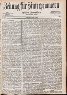 Zeitung für Hinterpommern (Stolper Wochenblatt) Nr. 57/1877