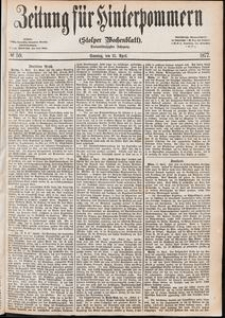 Zeitung für Hinterpommern (Stolper Wochenblatt) Nr. 59/1877