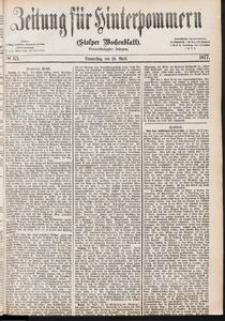 Zeitung für Hinterpommern (Stolper Wochenblatt) Nr. 65/1877