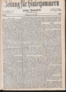 Zeitung für Hinterpommern (Stolper Wochenblatt) Nr. 66/1877
