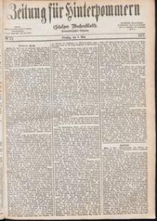 Zeitung für Hinterpommern (Stolper Wochenblatt) Nr. 72/1877