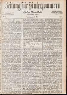 Zeitung für Hinterpommern (Stolper Wochenblatt) Nr. 73/1877